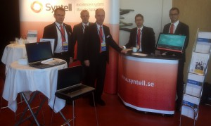 Syntells monter på RE-konferensen i Karlskrona
