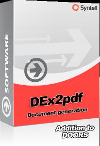 DEx2pdf