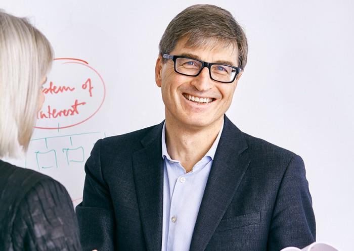 Syntells Tom Strandberg är grundare och initiativtagare till Scandinavian Summer School Week