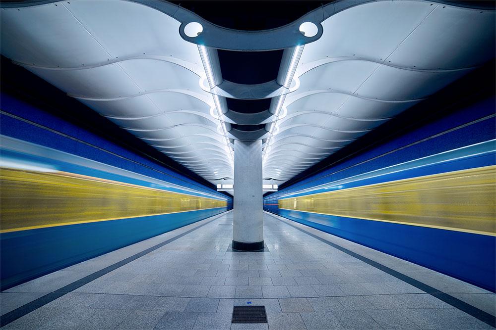 Tågstation i Munich